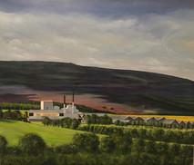 Glenlivet Distillery 60x70cm