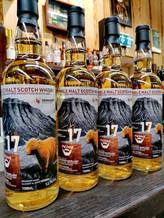 Whisky&Art Label für einen UA