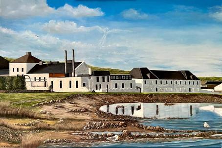 Bruichladdich Distillery 60x90cm