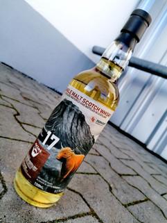 Whisky Etikett für einen UA