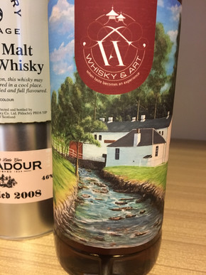 Edradour Distillery Label Whisky&Art