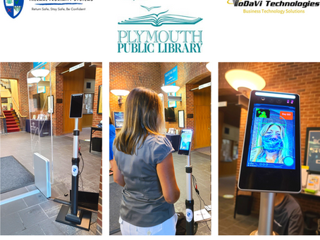 """""""A high-tech reopening at Plymouth Public Library"""""""