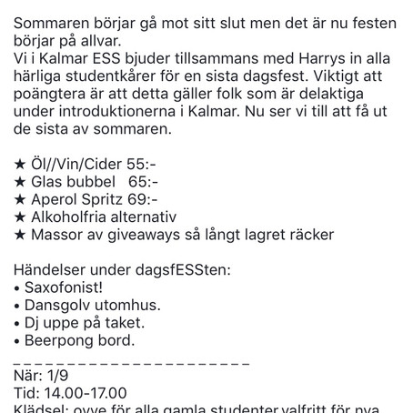 1/9 - DagsfESSt + GP