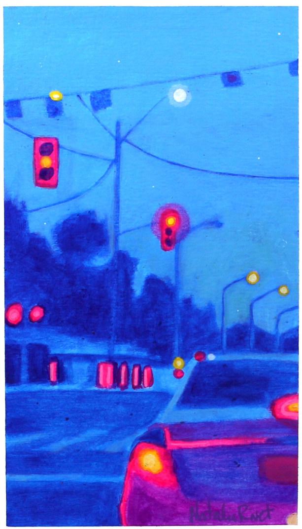 Kindling Twilight No.68, Richmond Rd heading west near Woodroffe Ave
