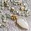 Thumbnail: Aquamarine & White Onyx Necklace