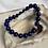 Thumbnail: Lapis & Gold Filled Bracelet