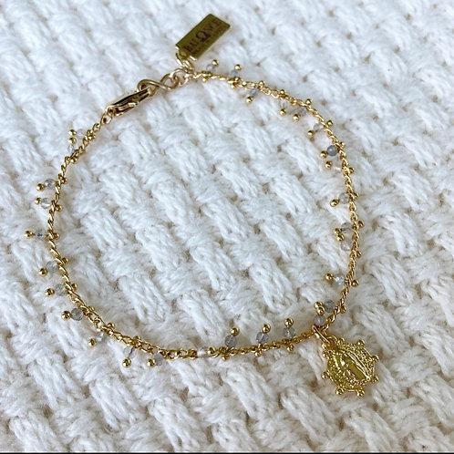 Labradorite Shaker Bracelet