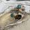 Thumbnail: Turquoise Spike Stud Earrings