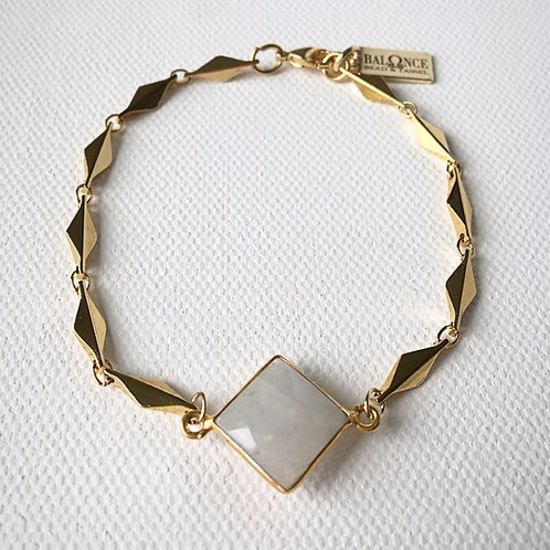Classy Moonstone Bracelet