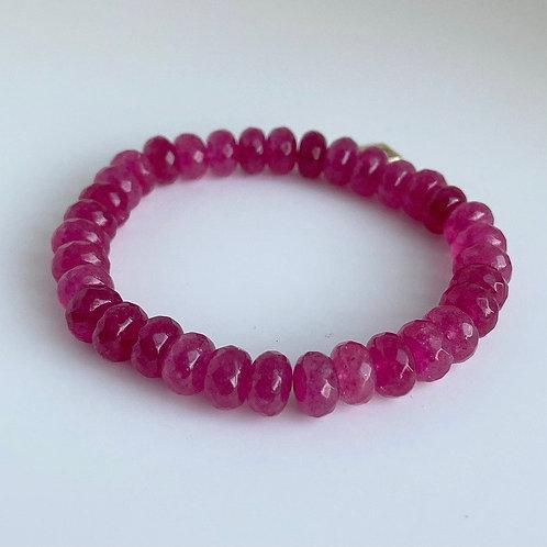 Juicy Pink Accent Bracelet
