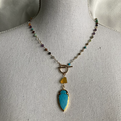 Turquoise Fiesta Necklace