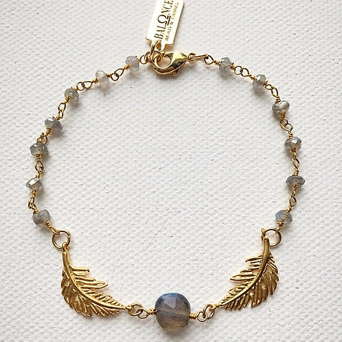 Dainty Labradorite Bracelet