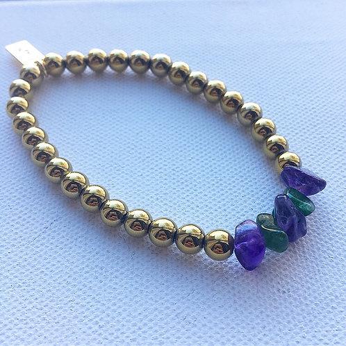 Mardi Gras Mambo Bracelet