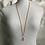 Thumbnail: Coral & Rose Quartz Necklace