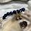 Thumbnail: Vintage Cloisonnè Pavè Huggie Earrings