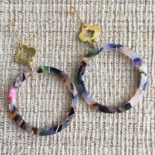 Confetti & Clover Earrings