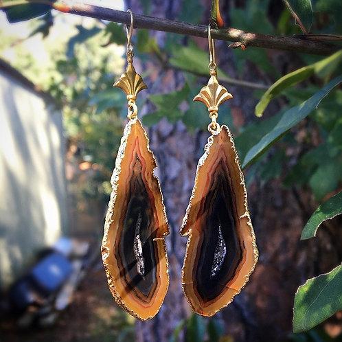 Agate Nola Earrings