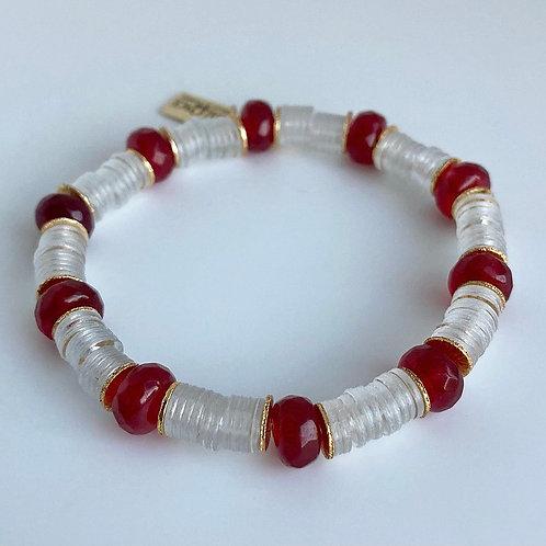 Red Hot Accent Bracelet