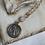 Thumbnail: Mystic Moonstone St. Benedict Necklace