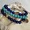 Thumbnail: Turquoise & Lapis Stack
