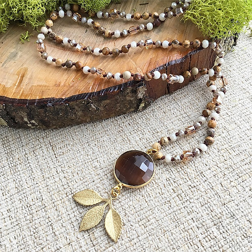 Fall Charm Necklace