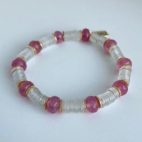 Pink Love Accent Bracelet