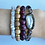 Thumbnail: Faceted Smokey Quartz & Freshwater Pearl Bracelet