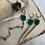 Thumbnail: Green Onyx Spike Huggies