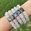 Thumbnail: Sea Glass & Labradorite Bracelet