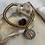 Thumbnail: Turquoise Golden Wave Benedict Bracelet