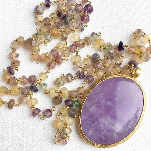 Zulu Agate Necklace