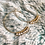 Thumbnail: Tiny Pearl Hoop Earrings