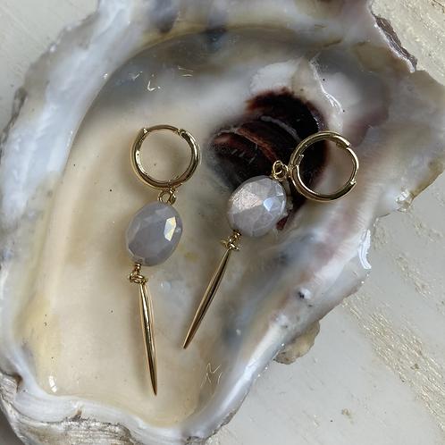 Mystic Moonstone Earrings