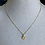Thumbnail: Vermeil Gold Virgin Mary Necklace
