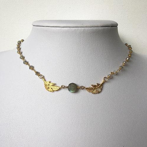 Dainty Labradorite Necklace