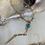 Thumbnail: Turquoise & Gold filled Lariat
