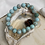 Thumbnail: Turquoise Virgin Mary Bracelet