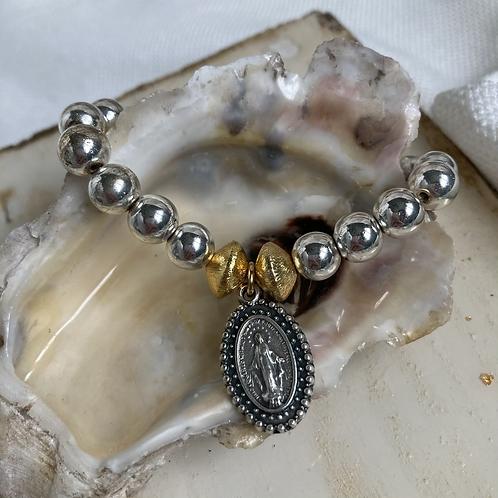 Hematite Miraculous Mother Bracelet