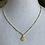 Thumbnail: Vermeil Gold Saint Benedict Necklace