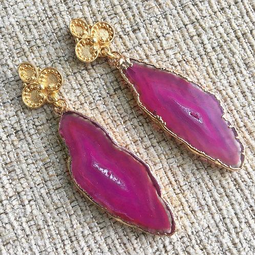 Bali Earrings in Pink