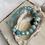 Thumbnail: Turquoise & Chalcedony Bracelet