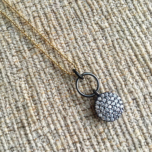 Mixed Metal Dainty Necklace