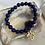 Thumbnail: Lapis Cross Bracelet