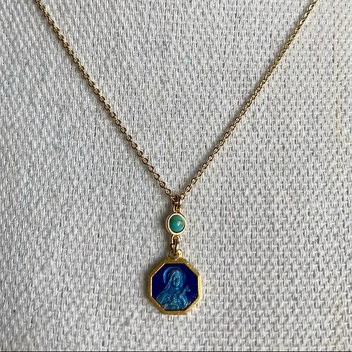 Vintage Saint Theresa Necklace