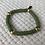 Thumbnail: Olive Vinyl Accent Bracelet