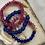Thumbnail: Sea Glass & Pink Jade Stack