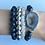Thumbnail: Mystic Labradorite & Agate Bracelet II