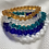 Thumbnail: Interlocking Sea Glass Bracelet