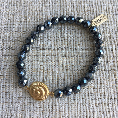 Hematite Vintage Bracelet