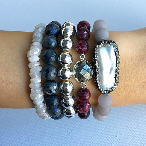 Silver Winter Stack